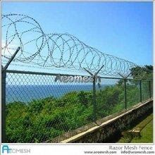 AEOMESH Metal Fence Basketball Court Fence