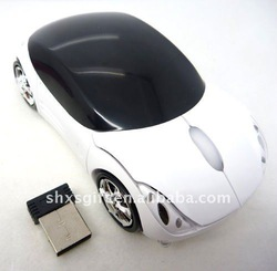 Promotional gifts 3D Car shape optical computer wireless mouse Cute Computer mouse