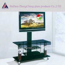 Hot bent glass TV stand design furniture