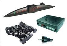 LED display auto reverse parking sensor(with four rear sensors) RD068C4 High Light