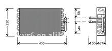 C200KROMPRESSOR evaporator OE#2028300358