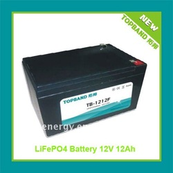 Deep Cycle Batteries12V Boat Motor Battery Pack Manufacturer with BMS+ALS Case