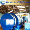 WASTE TYRE OIL PYROLYSIS MACHINE