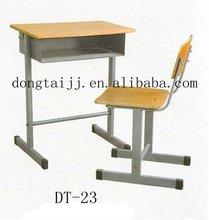 plywood school desk sets(study table&chair sets/senior school desk)