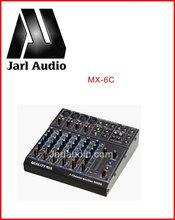 MX-6C audio pro mixer , 6/8 channel audio mixer , pro audio mixer console