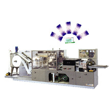 Wet Napkin Machinery with Auto Packing