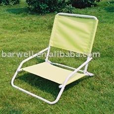 Steel folding low legs beach Chair