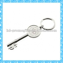 DKMK0256Elegant key to success with engraved logo metal Keychains