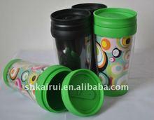16oz double wall plastic advertising Mug