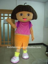 2012 dora the explorer cartoon mascot costume