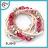 multi-layer crystal small beads bracelet
