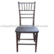 Wholesale Stacking Dark Fruitwood Chiavari Hotel Chair