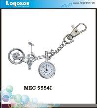 Personalized bicycle keychain digital watch