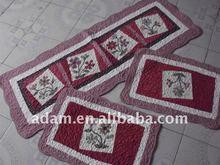 100%cotton mat