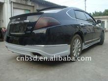 carbon fiber roof spoiler design for 08-10 Nissan teana
