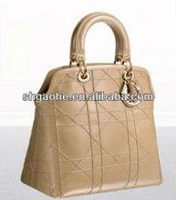2012 top fashion PU leather bags handbag