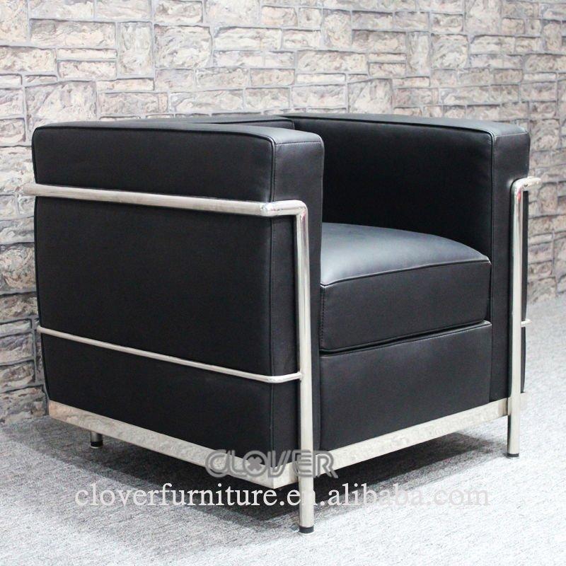Lc2 chaise replica le corbusier lc2 canap chaises de - Canape le corbusier lc2 ...