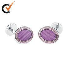 Royal Purple Oval Jewelry Cufflinks