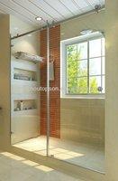 Portable shower door/glass sliding shower room