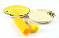 Ceramic Grater Plate Garlic Cheese Plate