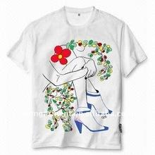 cheap wholesale plain white t shirts bulk with your logo