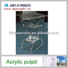2012 hot sale luxury acrylic pulpit