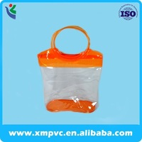 lovely manufacturering pipping pvc tote bag for shopping XYL-D-H220
