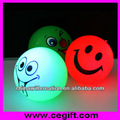 led light up brinquedo bola quicando