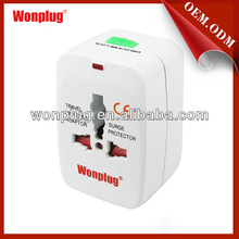 All in one with surge protection electric plug male female connector