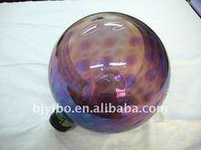 Lavender hollow glass balls