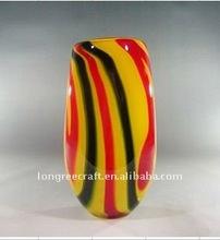 Low Price Wholesale Glass Vase Unique Shape