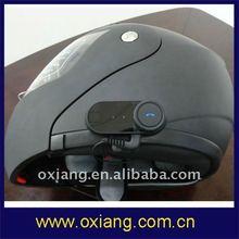 Motorcycle/ski bluetooth helmet headset with 800m intercom(New)