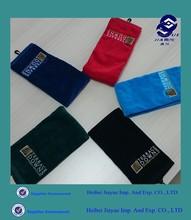 pocket in towel custom golf towel with loop