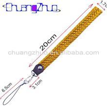 Fashion new yellow Leather Weave / Braid Strap