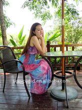plus size baju dress ladies fashion viscose maxi dressfrom China factory