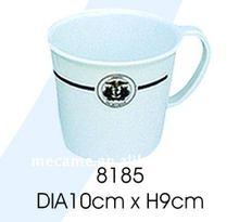 8185 DIA10cm*H9cm Melamine CUP/HANDLED 110/120G