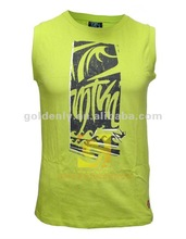 Latest men's cotton colorful vest