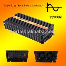 2000watts Pure Sine Wave Solar Power Inverter, DC 12V to AC 230V, 240vPower Invertor