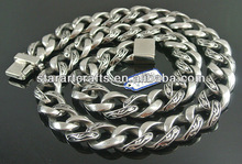 N140 hot sale stainless steel fashion necklace 2012