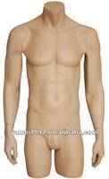 male torso;upper body mannequin in skin color