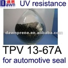 TPV compound for Auto seals equivalent to Santoprene TPV 121-67w175