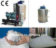 Dry ice making machine