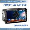 """7"""" 2 din HD Car Video Player For VW Volkwagen Golf Jetta Passat"""