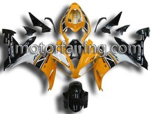 for yamaha r1 fairings body parts 04-06 yzf r1 2004 2005 2006 r1 race fairing yellow white black