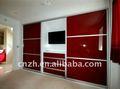 Muebles de dormitorio (UV alta de panel brillante)