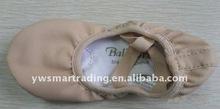 Leather dance ballet shoes split sole ballet shoes leather ballet shoe for children 2012