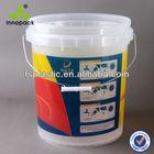10L Transparent Plastic Bucket
