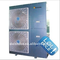 Air Source Heat Pump Combination Solar Heat System used DAIKIN Scroll Compressor,High COP,2 years Guarantee