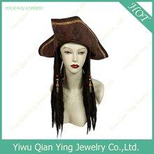 2012 fashional Cheap Pirate Jack's wig caps
