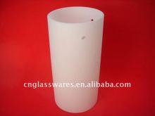 Glass cylinder lamp shade